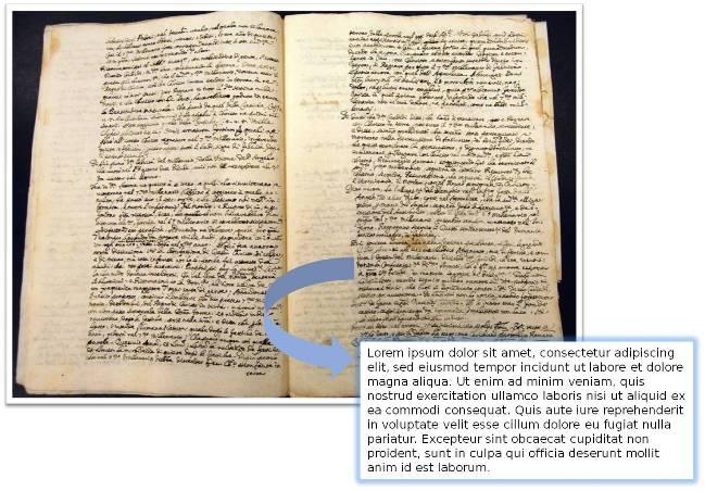 Transcripción de documentos antiguos en latín, castellano y catalán