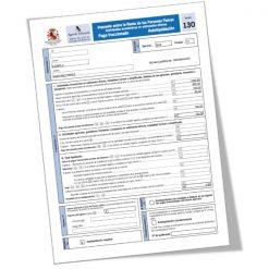 MODELO 130: pago fraccionado IRPF