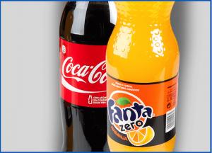 Marcas comerciales Coca cola y fanta